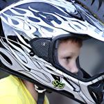 équipement moto pour enfant