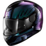 équipement moto femme rose