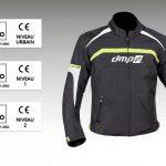 Certification equipement moto