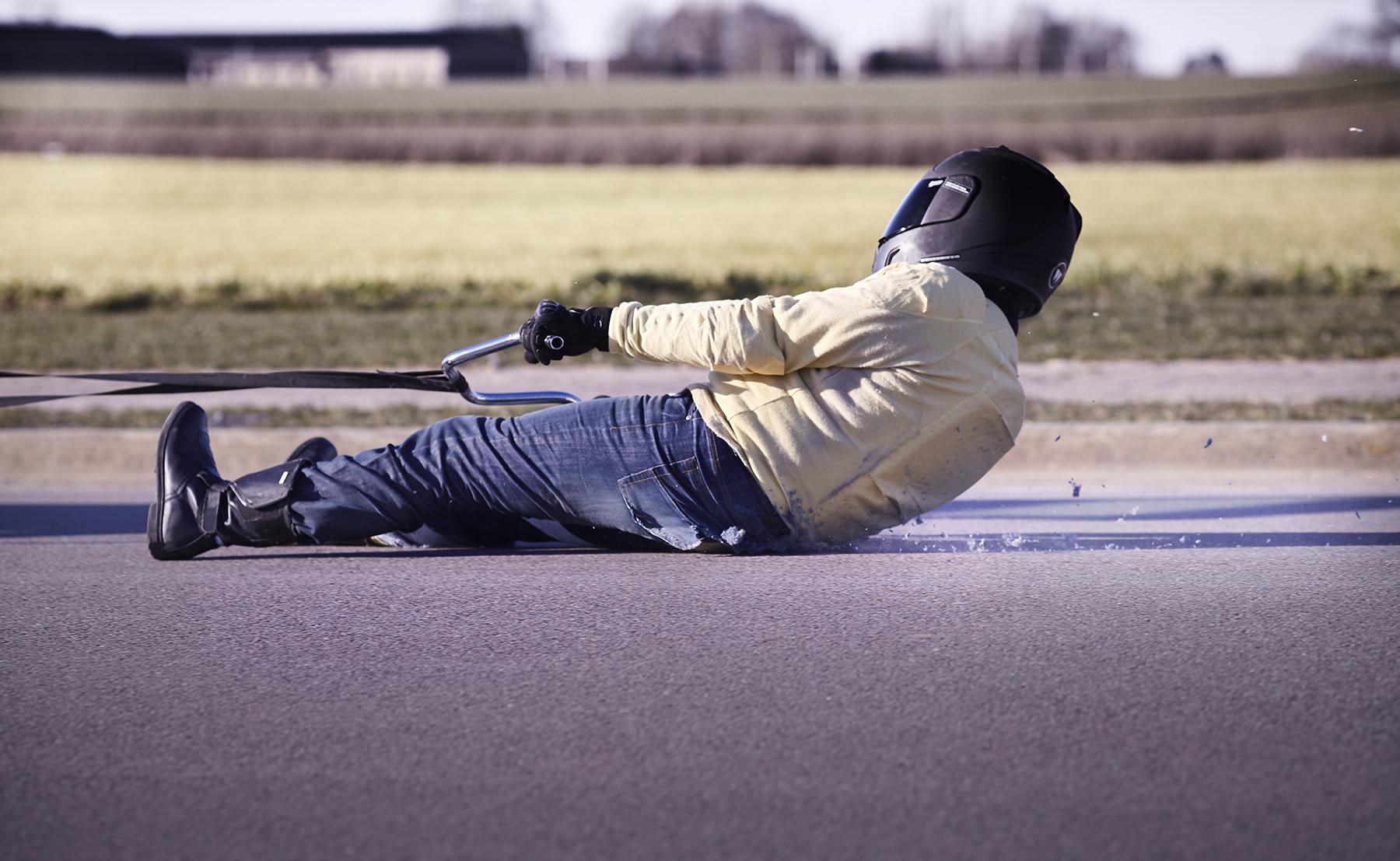 Sous vetement moto avec protection