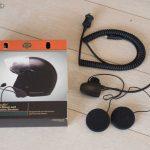 Equipement audio casque moto