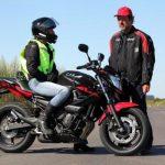 Condition equipement permis moto
