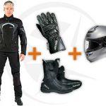 Quel équipement pour permis moto