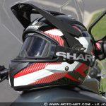Equipement moto test