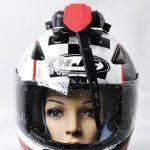 Gant moto avec essui glace