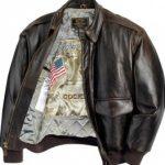 Blouson moto cuir aviateur