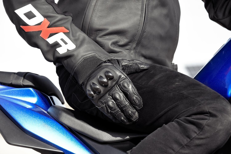 Logo gant moto homologué 2017