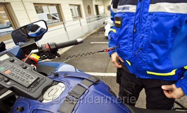 Nouvelle equipement moto gendarmerie