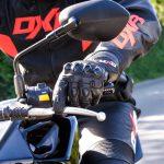 Dessin de gant de moto