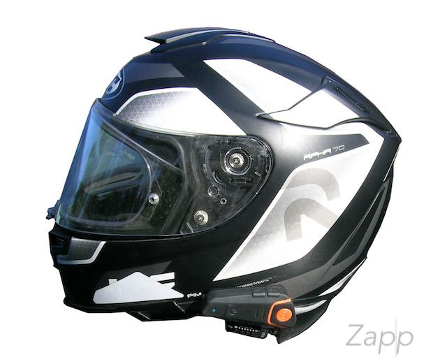 Equipement audio moto