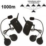 Equipement audio pour casque moto