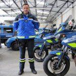 Pantalon gendarmerie moto