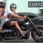 Moto custom equipement