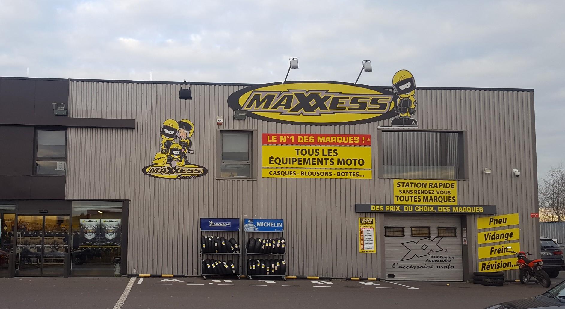 Botte moto cross maxxess