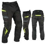 Pantalon moto renforce