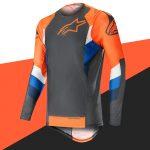 Equipement moto cross orange