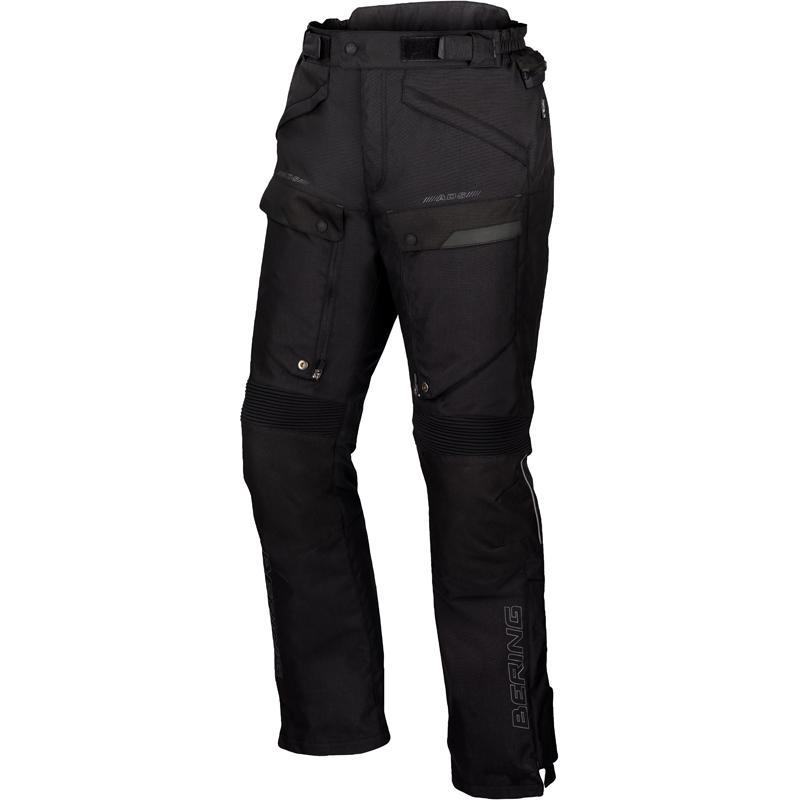 Pantalon moto cuir bering flash
