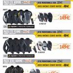 équipement moto pack