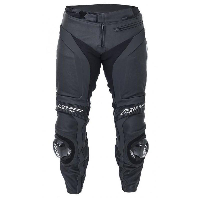 Pantalon en cuir moto homme