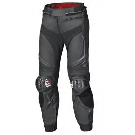 Pantalon cuir moto marron
