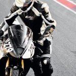 Pantalon cuir moto racing