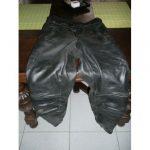 Pantalon moto cuir dafy