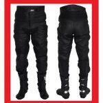 Pantalon cuir moto homme grande taille