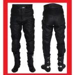 Pantalon homme cuir moto