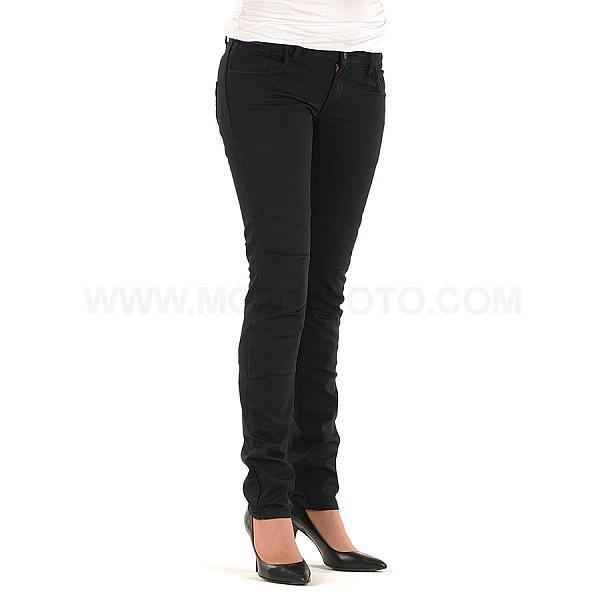 Pantalon moto jean kevlar femme