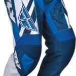 Pantalon moto bleu