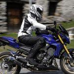 Pantalon moto cuir ixs malaga