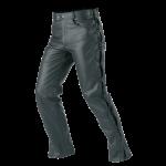 Pantalon en cuir moto femme