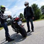 équipement nécessaire permis moto