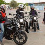 équipement obligatoire pour passer le permis moto
