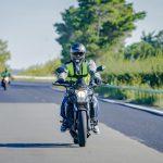 Gant pour passer le permis moto