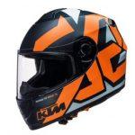 Equipement moto orange