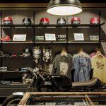 Boutique equipement moto vintage paris