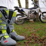 Comment nettoyer botte moto cross