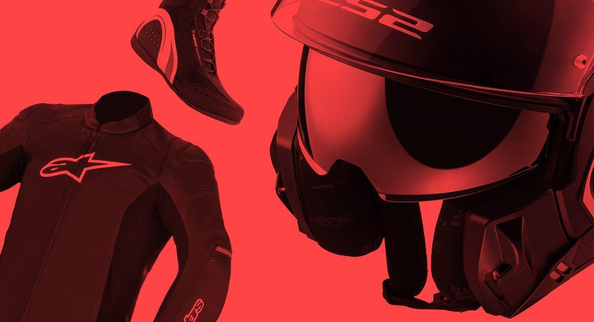 équipement moto promotion