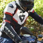 Pantalon moto cuir rev'it