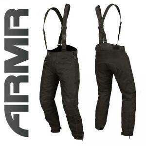 Pantalon moto avec bretelle