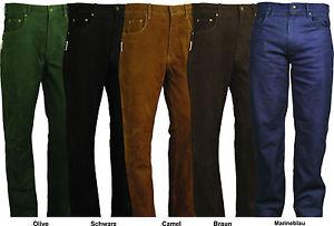 Pantalon moto nubuck