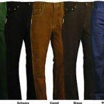 Pantalon jean cuir moto