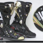 Botte moto racing etanche