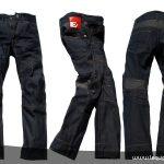 Pantalon moto renforcé