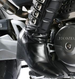 Botte moto femme a talon
