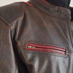 Test blouson cuir moto homme